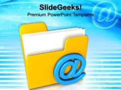 Mail Folder Internet PowerPoint Templates And PowerPoint Themes 0812