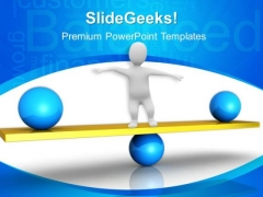Maintain Balanced Finance PowerPoint Templates And PowerPoint Themes 0412