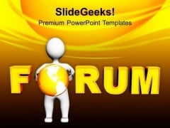 Maintain Forum To Solve Problems PowerPoint Templates Ppt Backgrounds For Slides 0513