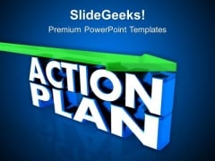 Make A Action Plan For Success PowerPoint Templates Ppt Backgrounds For Slides 0613