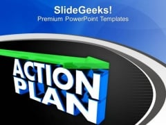 Make A Action Plan PowerPoint Templates Ppt Backgrounds For Slides 0613