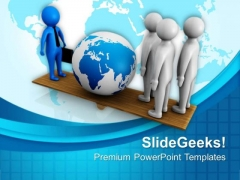 Make A Balance In Global Dealing PowerPoint Templates Ppt Backgrounds For Slides 0413