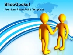 Make A Business Relation PowerPoint Templates Ppt Backgrounds For Slides 0613