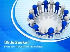 Make A Great Team For Better Future PowerPoint Templates Ppt Backgrounds For Slides 0713