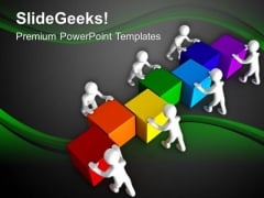 Make A Team Effort To Fix The Problem PowerPoint Templates Ppt Backgrounds For Slides 0613