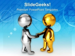 Make A Two Way Communication PowerPoint Templates Ppt Backgrounds For Slides 0613