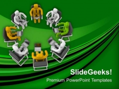 Make Diversity In Team PowerPoint Templates Ppt Backgrounds For Slides 0613