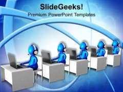 Make Global Communication Easy PowerPoint Templates Ppt Backgrounds For Slides 0713