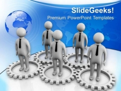 Make Global Marketing Team PowerPoint Templates Ppt Backgrounds For Slides 0613