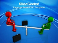 Make Good Balnce In Relation With Clients PowerPoint Templates Ppt Backgrounds For Slides 0613