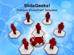 Make Good Global Clients For Business PowerPoint Templates Ppt Backgrounds For Slides 0713