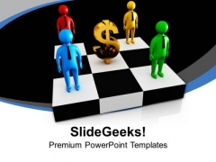 Make Money With Team Efforts PowerPoint Templates Ppt Backgrounds For Slides 0613