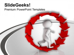 Make Your Own Path PowerPoint Templates Ppt Backgrounds For Slides 0613