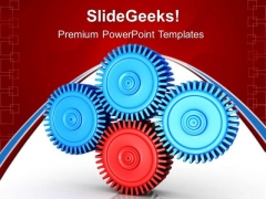 Manufacturing Gears Business PowerPoint Templates And PowerPoint Themes 0512