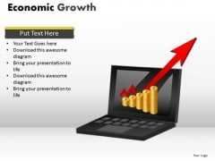 Marketing Diagram Economic Growth Business Finance Strategy Development