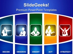 Marketing Strategy Business PowerPoint Templates And PowerPoint Backgrounds 0811