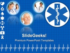 Medical Collage Health PowerPoint Themes And PowerPoint Slides 0711