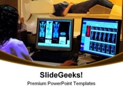 Medical Unit Computer PowerPoint Templates And PowerPoint Backgrounds 0311