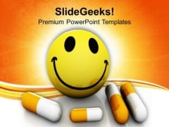 Medicine To Make You Healthy Medical PowerPoint Templates Ppt Backgrounds For Slides 0413