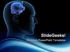 Meditations Over Savings Finance PowerPoint Themes And PowerPoint Slides 0711