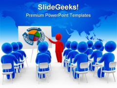 Meeting Business PowerPoint Template 0610
