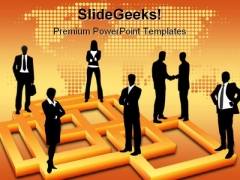 Meeting Finance PowerPoint Template 0510
