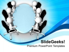 Meetings For Financial Issues Is Very Important PowerPoint Templates Ppt Backgrounds For Slides 0713