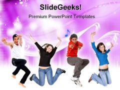 Melody Music PowerPoint Themes And PowerPoint Slides 0511