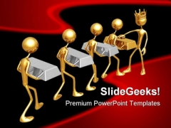 Midas Touch Abstract PowerPoint Themes And PowerPoint Slides 0711