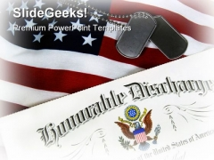 Military01 Americana PowerPoint Template 1110