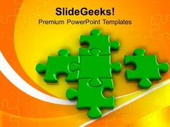 Missing Piece Of The Puzzle Solution PowerPoint Templates Ppt Backgrounds For Slides 0213