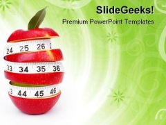 Mixed Fruit Food PowerPoint Templates And PowerPoint Backgrounds 0511