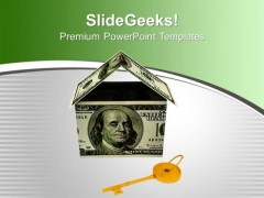 Money House Captital Security PowerPoint Templates Ppt Backgrounds For Slides 0113