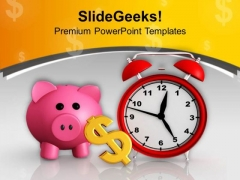 Money Increases With Time PowerPoint Templates Ppt Backgrounds For Slides 0513