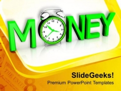 Money Time Business Concept PowerPoint Templates Ppt Backgrounds For Slides 0413