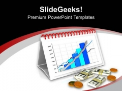 Monthly Bar Graph Business Growth PowerPoint Templates Ppt Backgrounds For Slides 0413