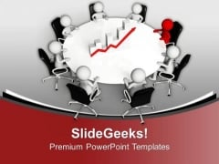Monthly Business Review Meetings With Team PowerPoint Templates Ppt Backgrounds For Slides 0613