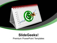 Monthly Dollar Target Acheivment Report PowerPoint Templates Ppt Backgrounds For Slides 0313
