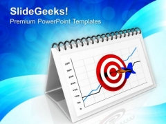 Monthly Target Board Business PowerPoint Templates Ppt Backgrounds For Slides 0413