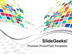 Mosaic Background Design PowerPoint Themes And PowerPoint Slides 0511