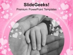 Mother Is Gods Gift With Child PowerPoint Templates Ppt Backgrounds For Slides 0313