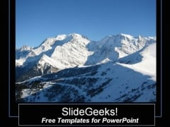 Mountain powerpoint templates slides and graphics gorgeous mountain view powerpoint template toneelgroepblik Images