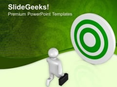 Moving Forward To Achieve Success In Career PowerPoint Templates Ppt Backgrounds For Slides 0813