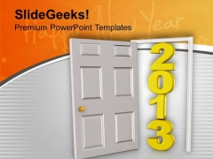Moving Towards Planned Financial Year PowerPoint Templates Ppt Backgrounds For Slides 0713