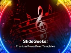 Music Events PowerPoint Templates And PowerPoint Backgrounds 0511