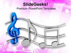 Music Gives Peace PowerPoint Templates Ppt Backgrounds For Slides 0813