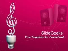 Innovative Music PowerPoint Template