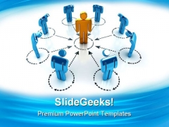 Network Business PowerPoint Templates And PowerPoint Backgrounds 0411