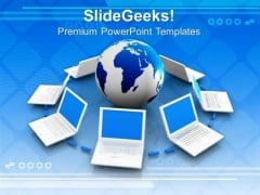 Network Concept Communication PowerPoint Templates And PowerPoint Themes 0812
