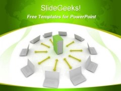 Business Networking PowerPoint Template